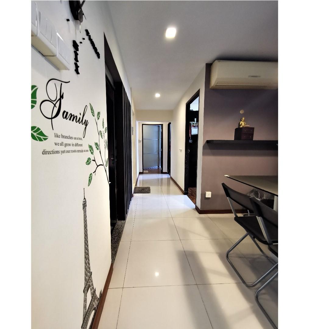 Designer Decor Premium HDB for Sale at Choa Chu Kang, Mins walk to Yew Tee MRT Station