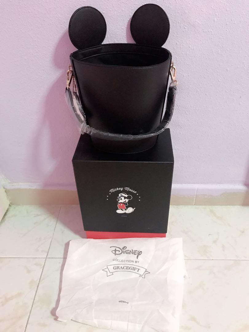 Disney collection by Gracegift cylinder bucket bag