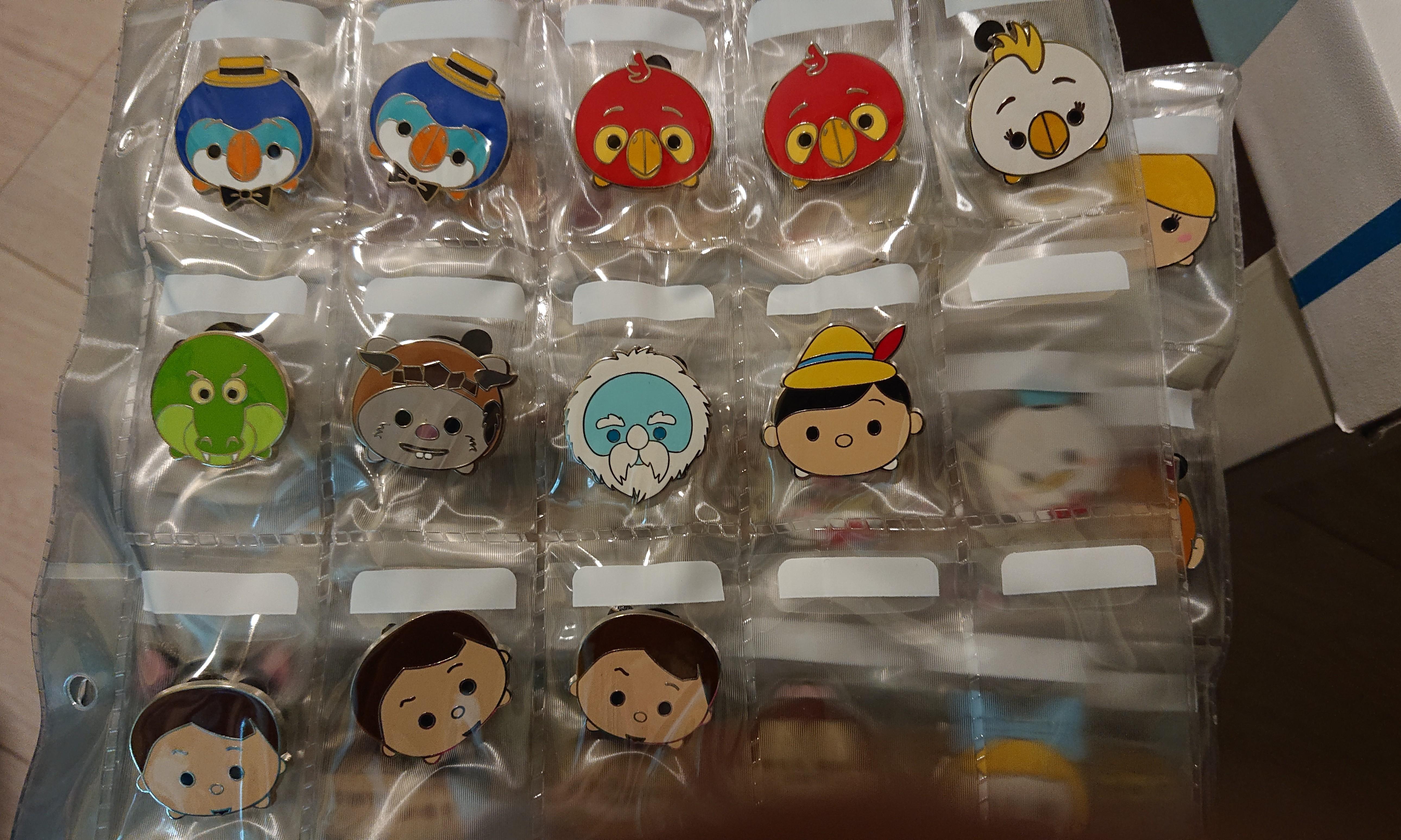 Disney pins TsumTsum mystery pins lot