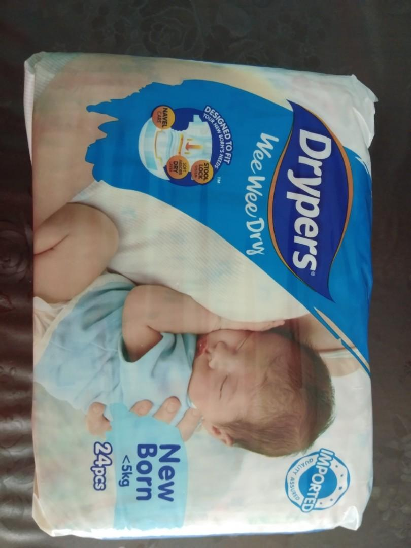 Drypers Wee Wee Dry for Newborn