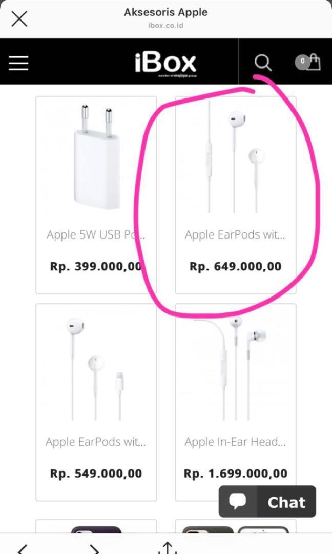 EarPods HeadPhone Plug Apple