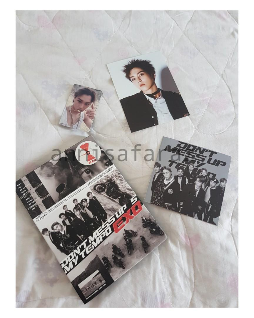 Exo tempo album full set