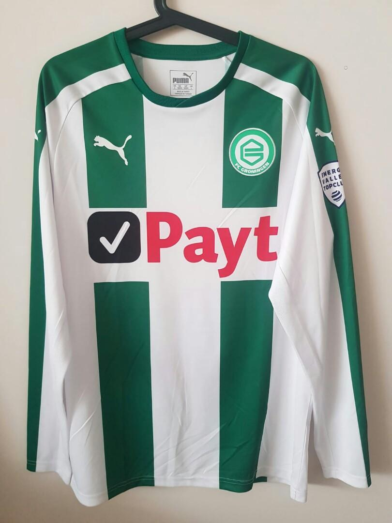 Fc Groningen Home Authentic Jersey Sports Sports Apparel On Carousell