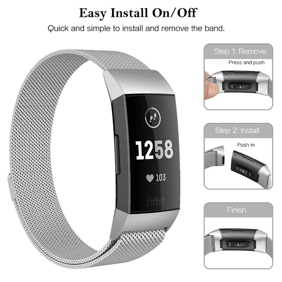 Fitbit Charge 3 - Instock JANSIN New Series and Charge 2
