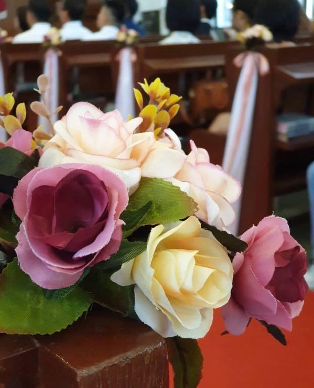 Flower for church wedding (for RENT)
