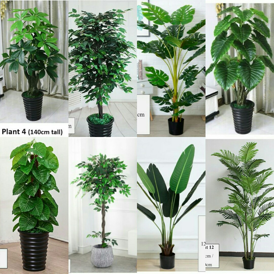 FREE DELIVERY Large Artificial Plant Plants Fake Trees ...