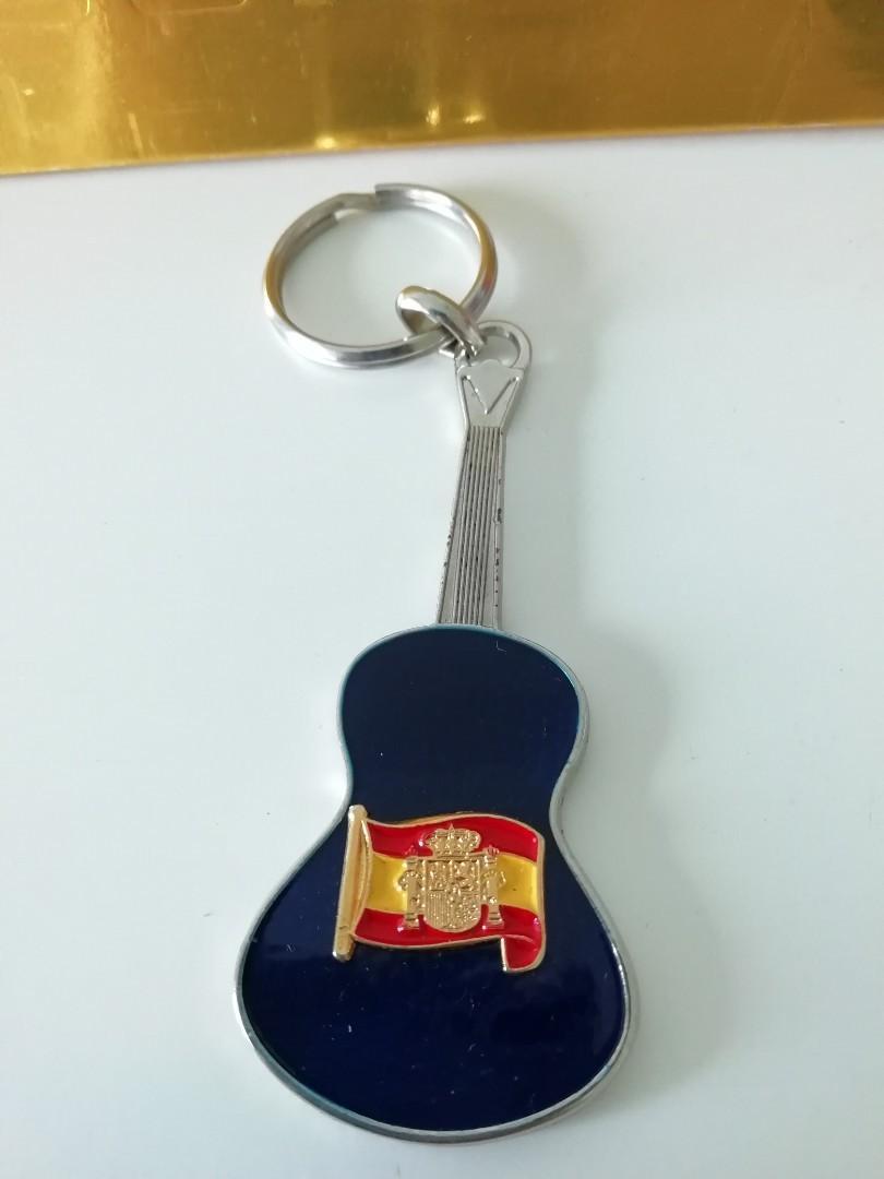 From Spain - Spanish Guitar Keychain