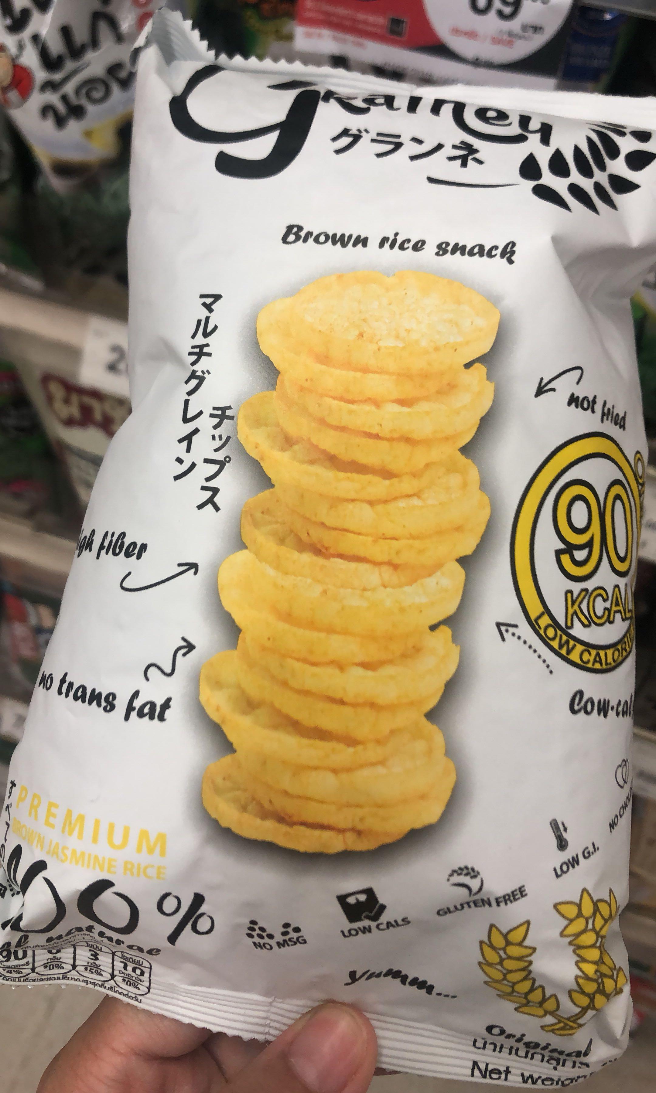Gluten free/ 低脂/ 減重中零食