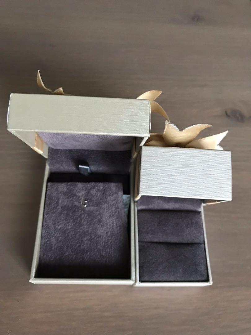 Gold heart jewel box