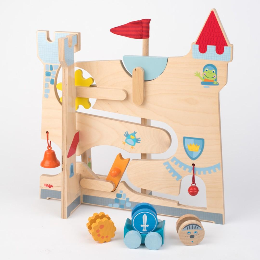 Haba Motor Skill Game Knights Castle Wooden Toy Rent T0002