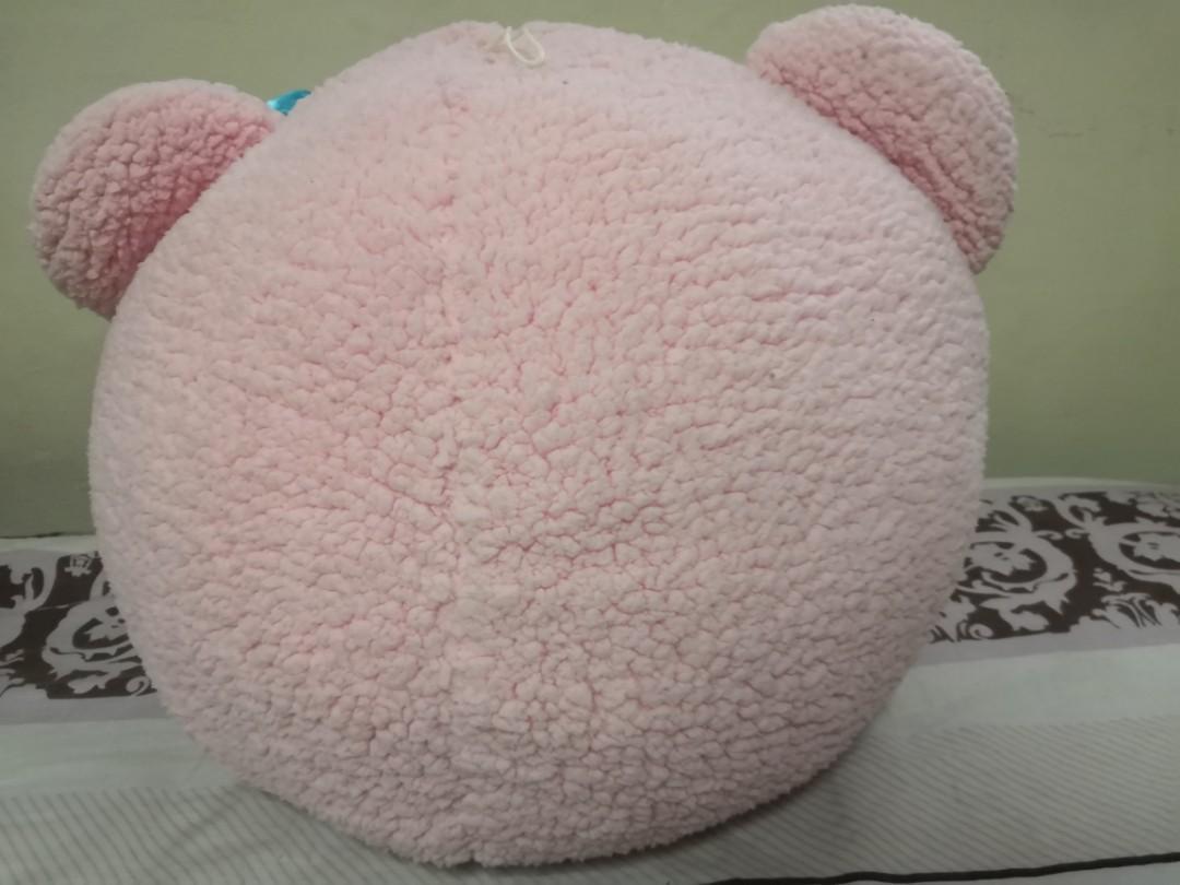 Hello Kitty Pink Bear Head Plush