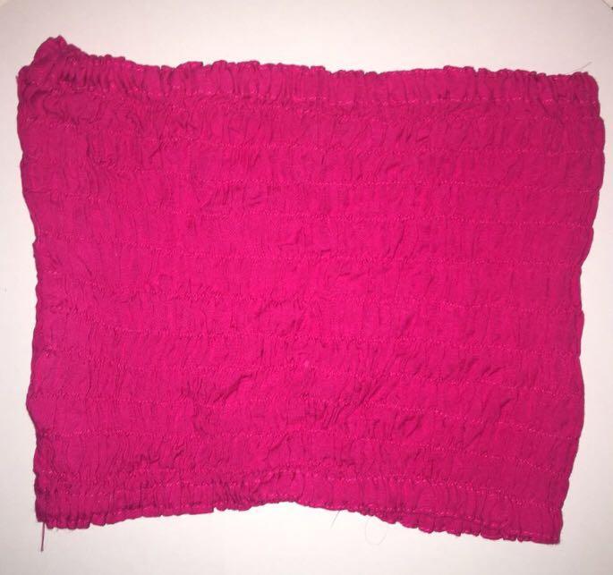 Hot Pink Tube Top