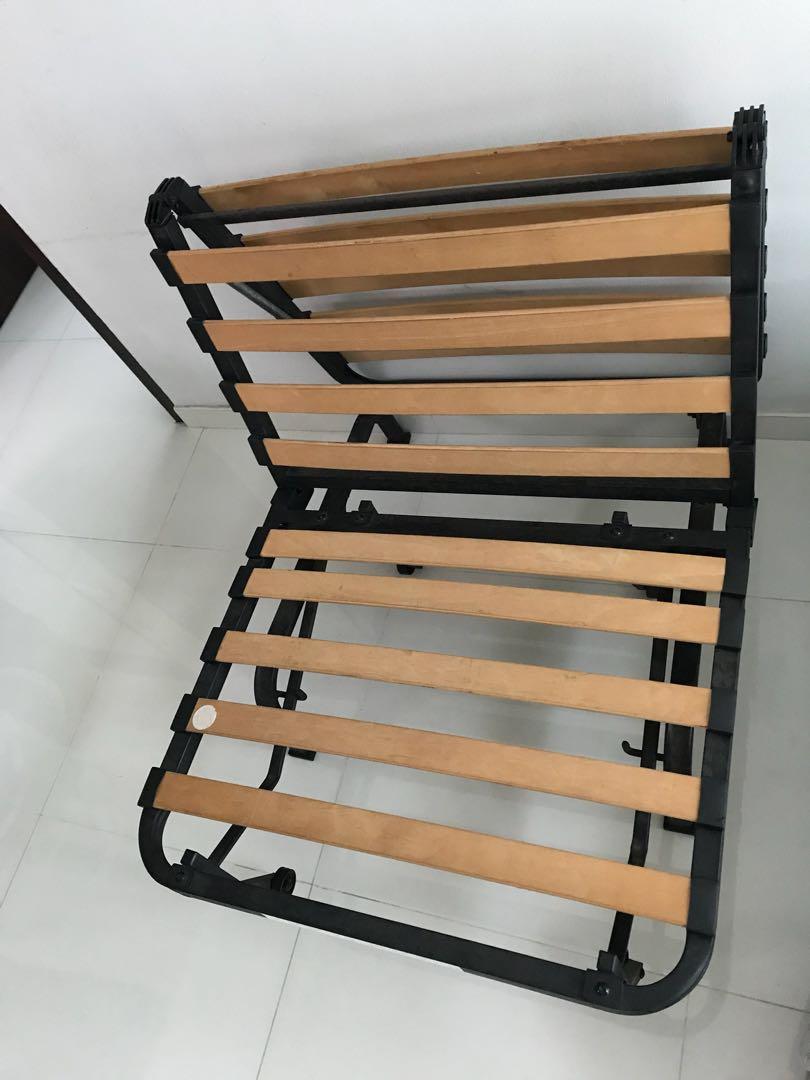 best website f8d71 7a0c9 IKEA Foldable Bed Frame, Furniture, Beds & Mattresses on ...