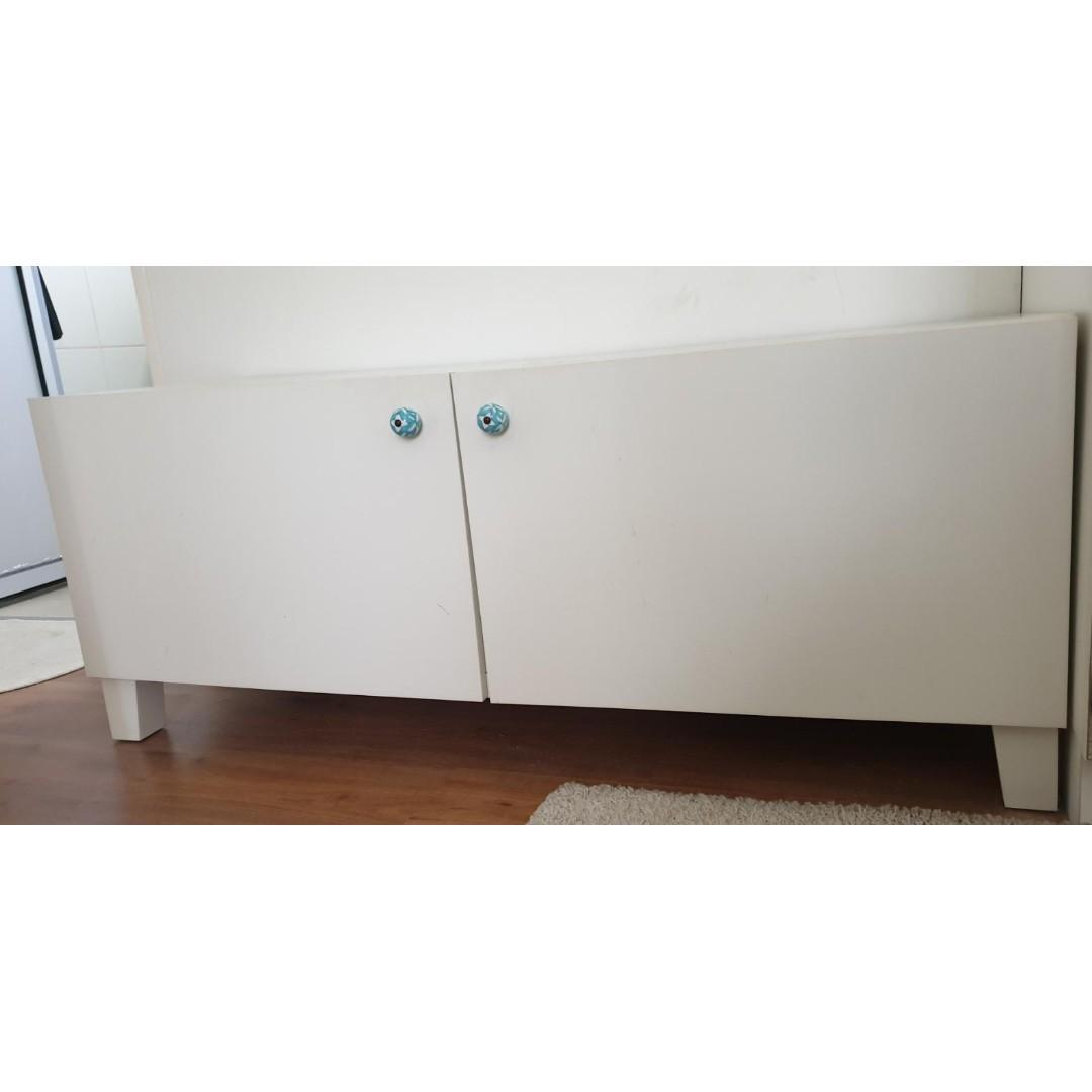 Ikea Tv Console With Zara Home Door