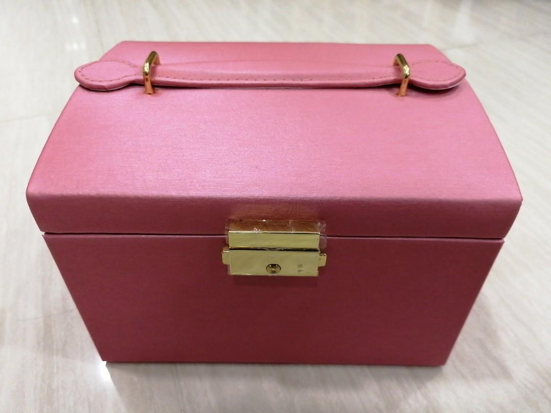Jewellery Box Pink