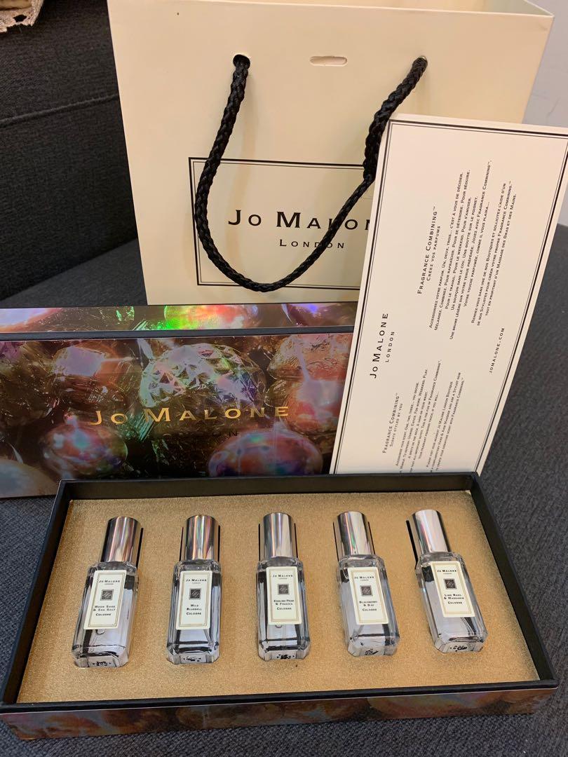 Jo Malone 聖誕禮盒組 白瓶(正品)另有黑瓶組
