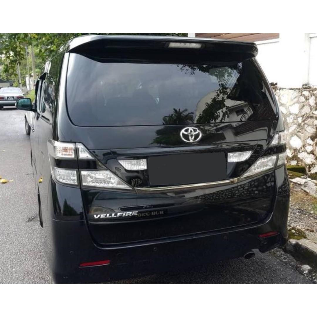 ❗KERETA SEWA Toyota Alphard And Vellfire MURAH Shah Alam Klang❗ 🚗