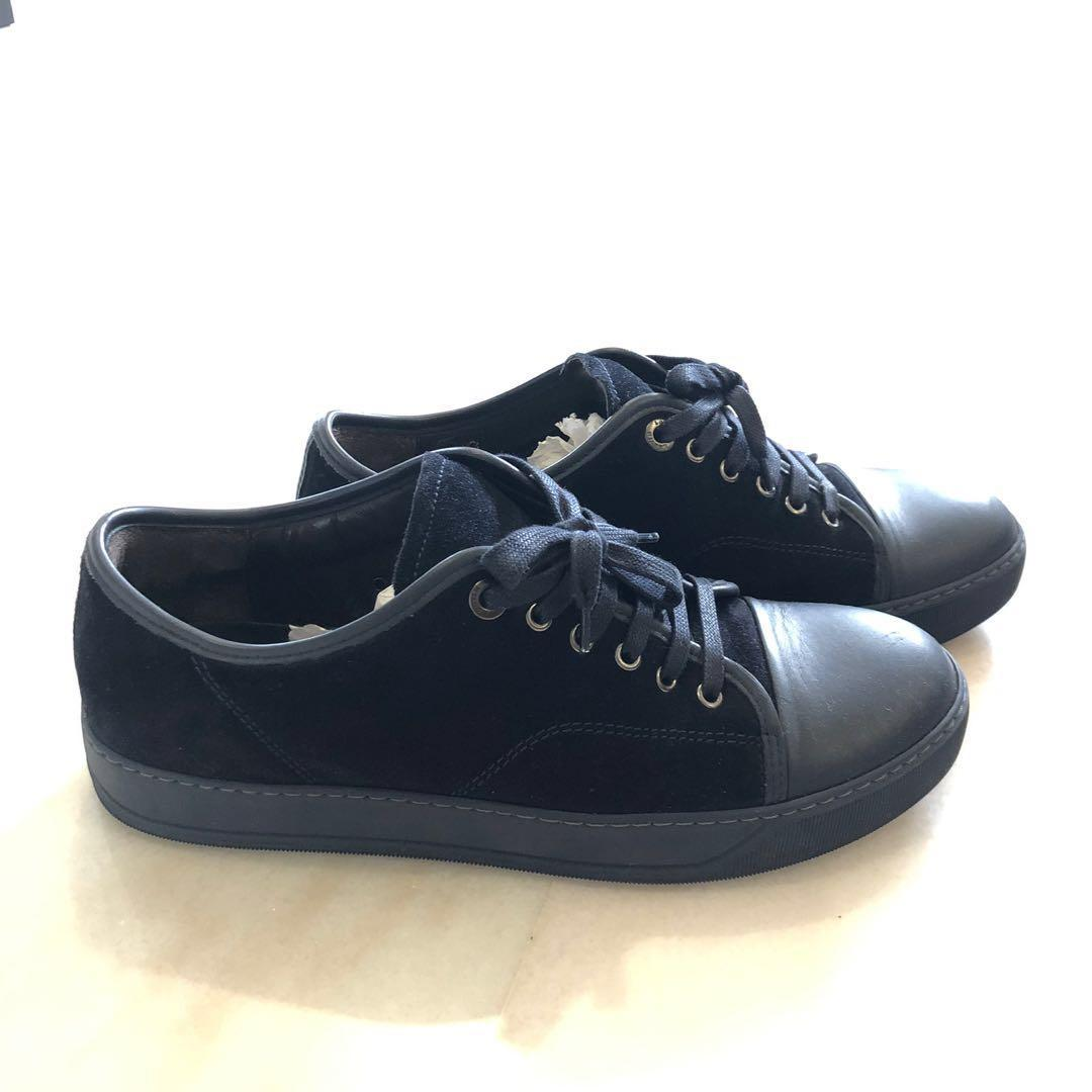 Lanvin Cap Toe Sneakers, Men's Fashion