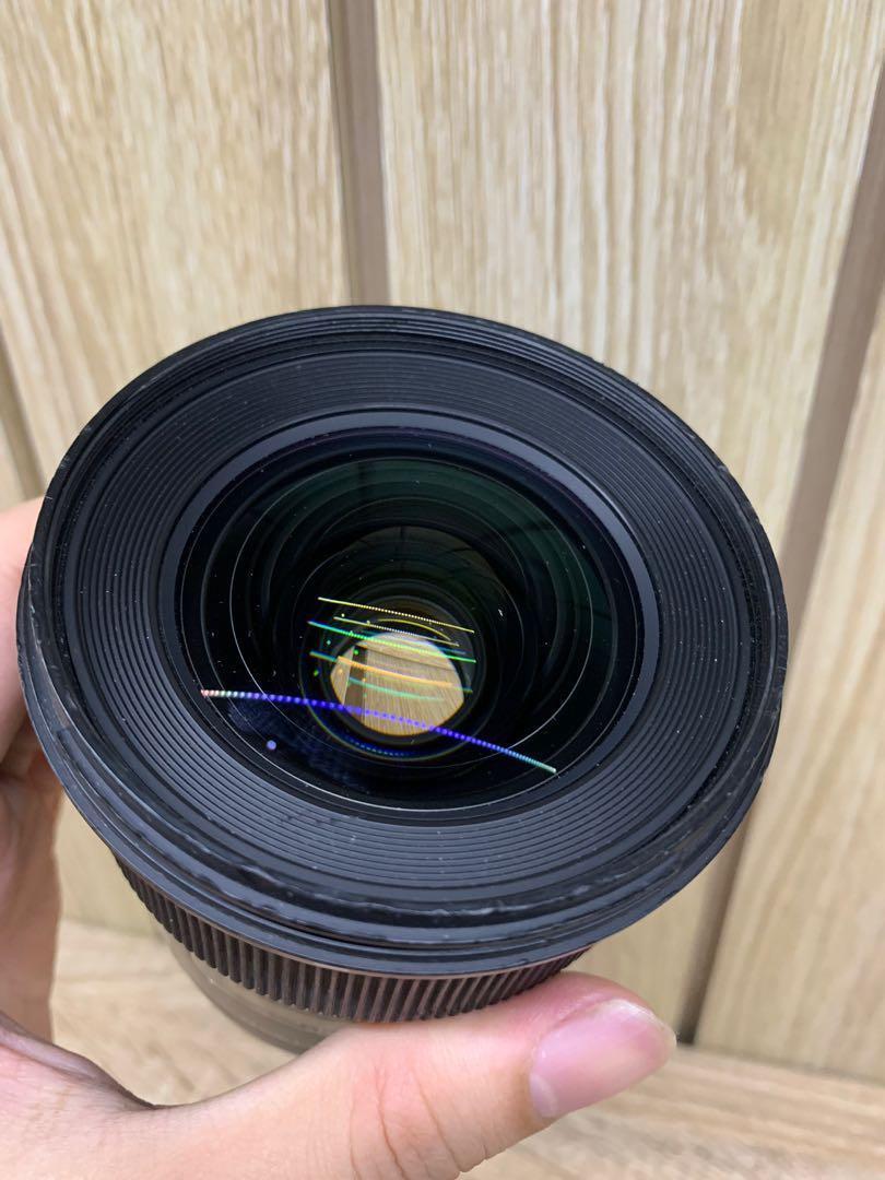 Lensa sigma 24mm 1.4 dg hsm art canon