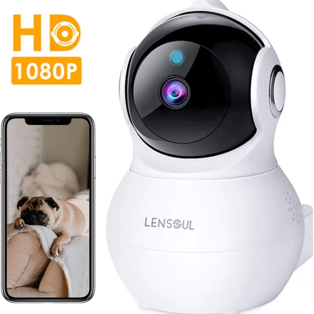 Lensoul IP Camera 1080P HD Security Camera Wireless IP Camera Built