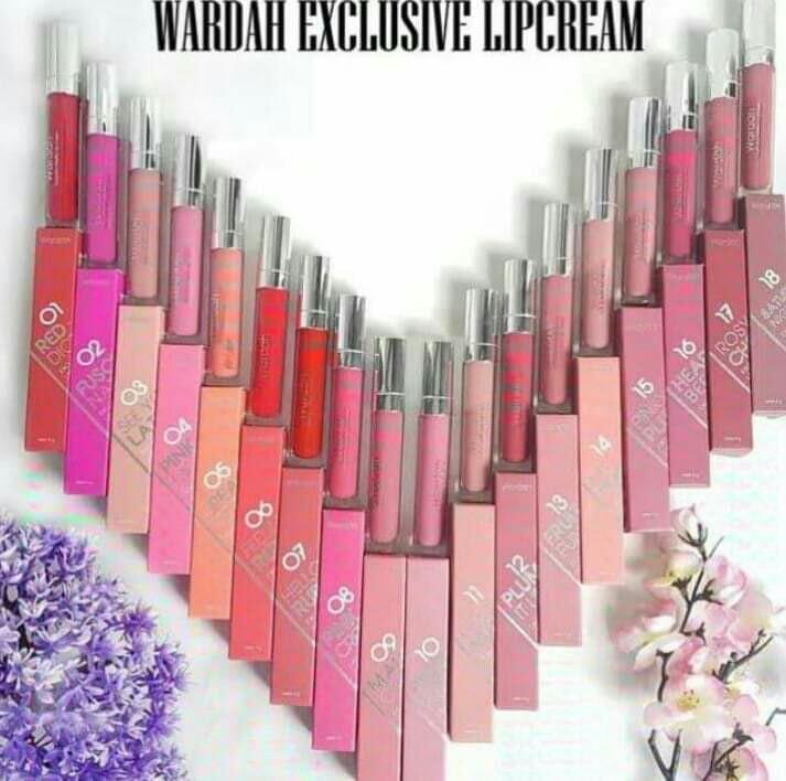 Lipstik matte wardah no.18