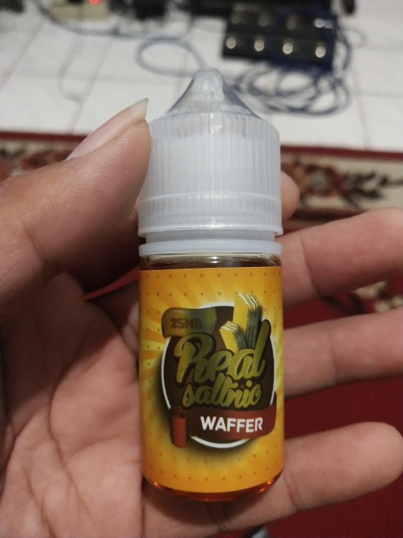 Liquid Salt nic Real Wafer