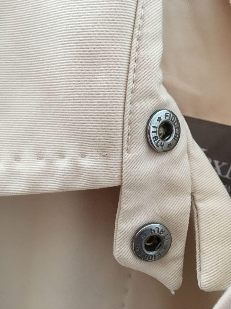 Max Mara Rainwear Water repellent trench coat raincoat, size 2