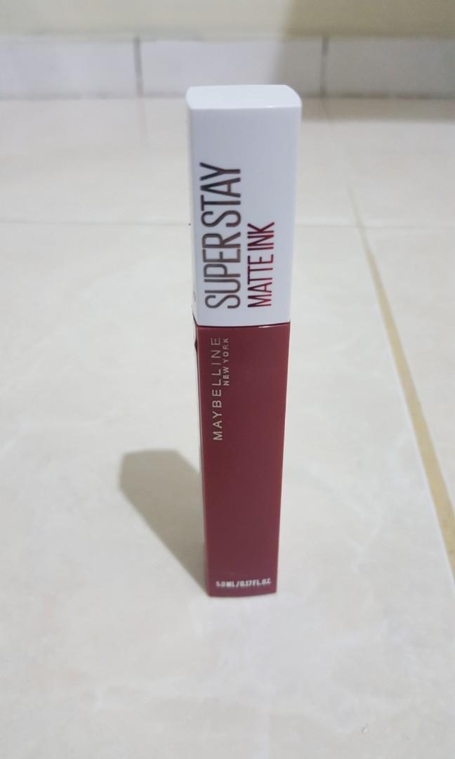 Maybelline Superstay Matte Ink shade ruler