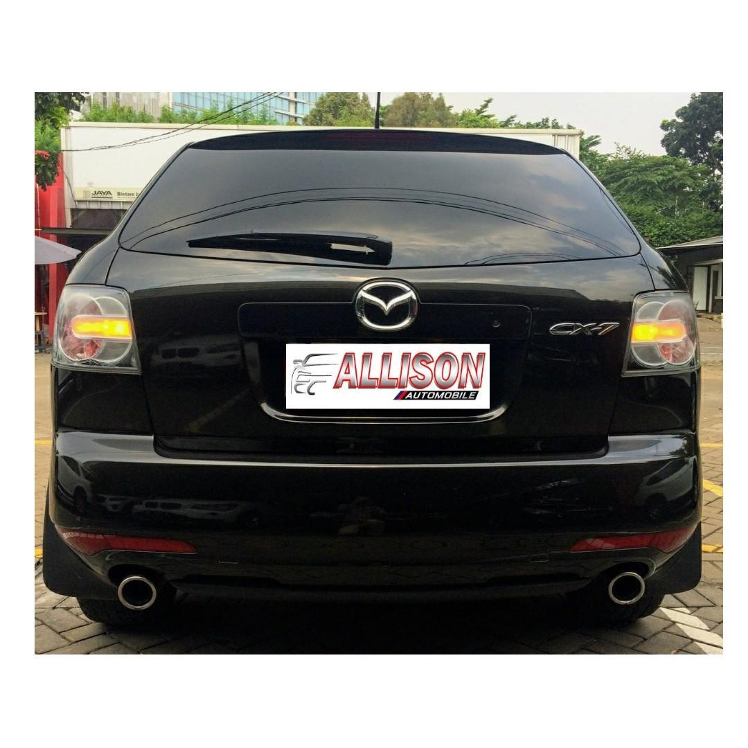 Mazda CX7 2.3L Automatic 2011 Hitam Top Condition Sunroof, Dp 45,9 Jt No Pol Genap