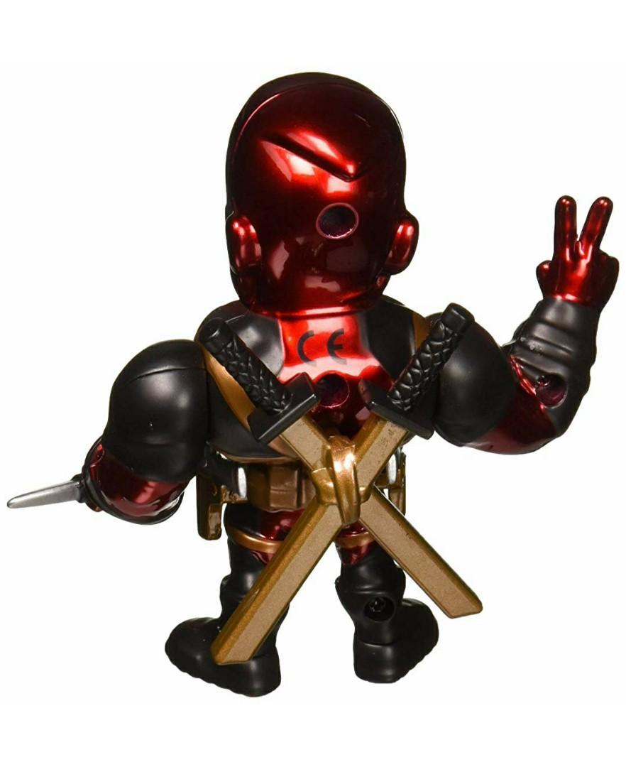 "Metalfigs 4"" Marvel - Deadpool Collectible Figure, Red"