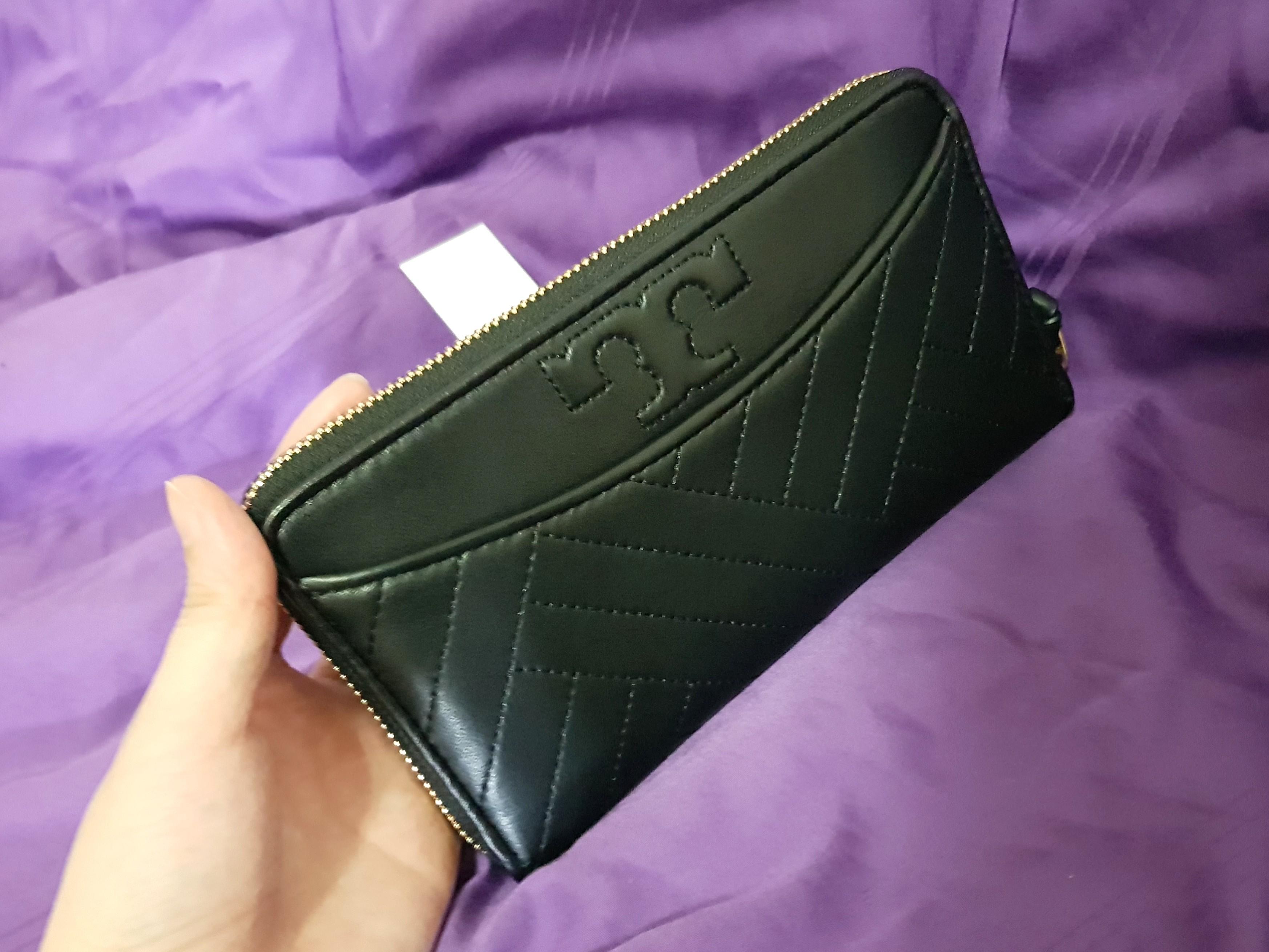 MOTHER'S DAY - 165 ONLY! Tory Burch Alexa Zip Continental Wallet - Black (INSTOCK) #EndgameYourExcess