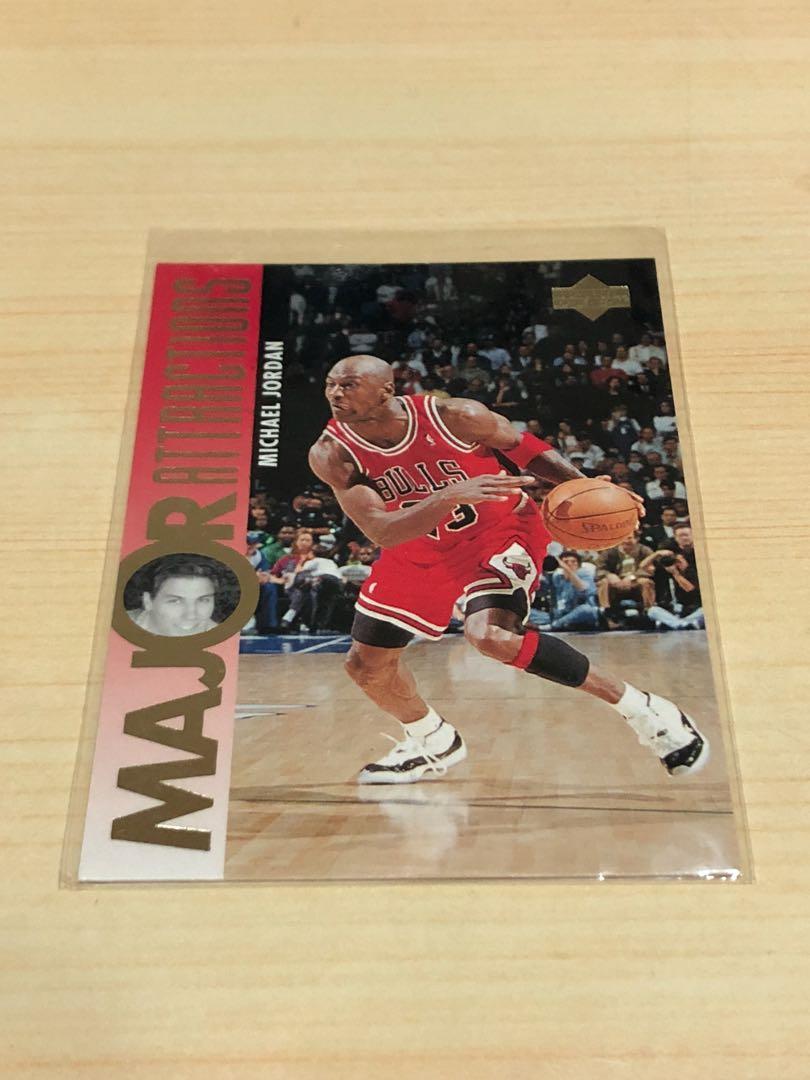 NBA 95年Michael Jordan 球員卡 公牛