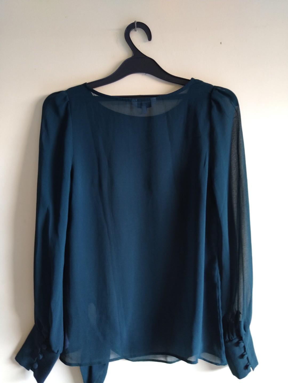 Baju New Look Sheer Top Size 8 #maujam