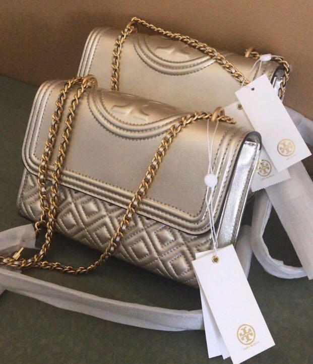 New TORY BURCH Fleming Small Gold