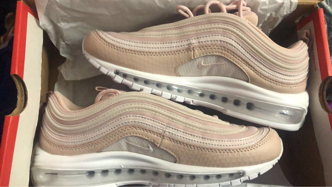 super popular a9abc 438f8 Nike Air Max 97 Soft Pink on Carousell