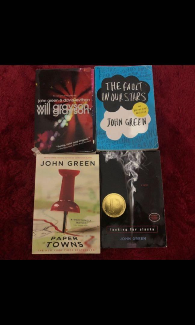 Novel Buku John Green Preloved