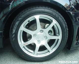 Original Proton Waja R3 Sports Spring