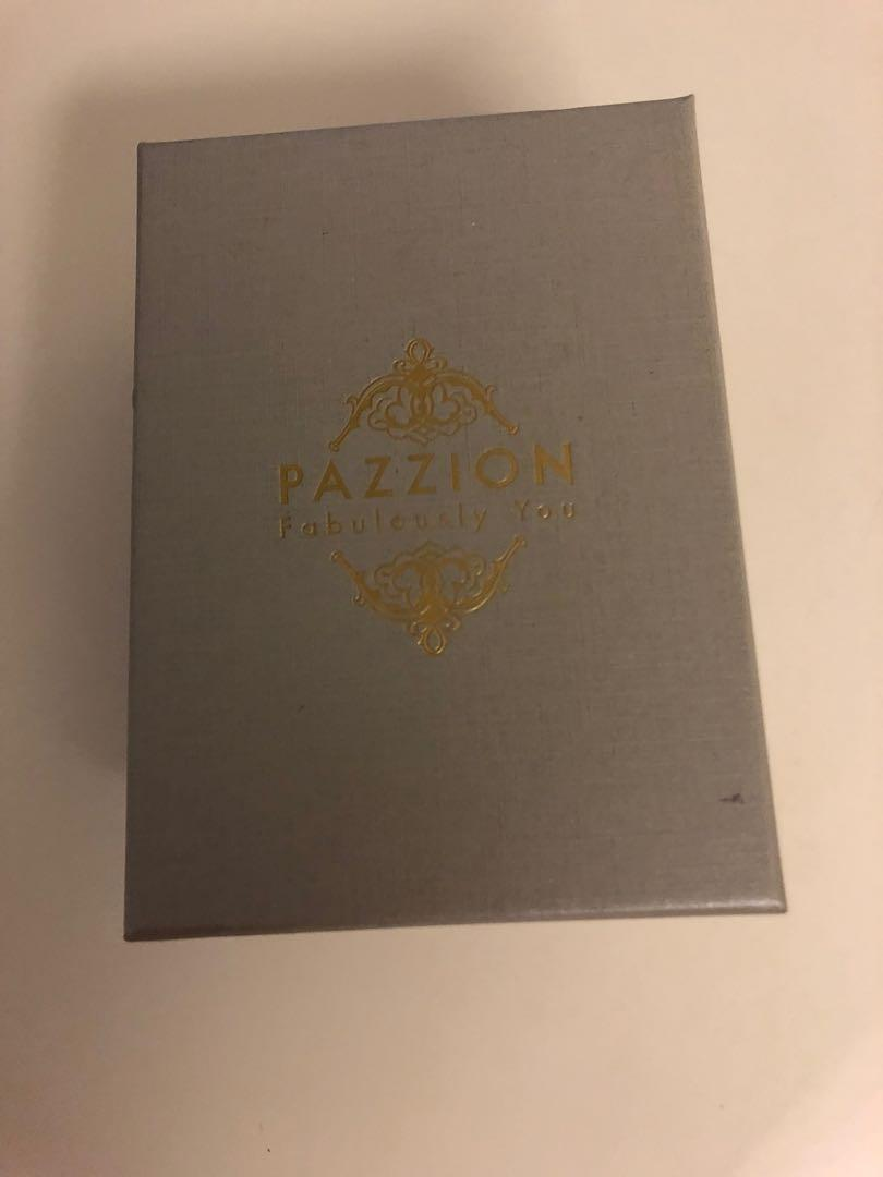 Pazzion Lipstick leather make up holder pouch