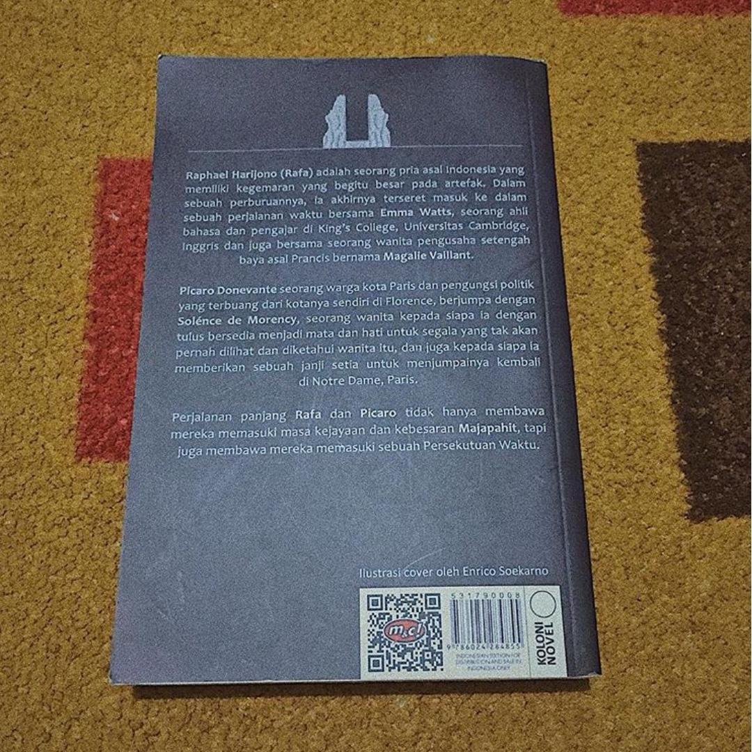 Persekutuan Sang Waktu - Novel