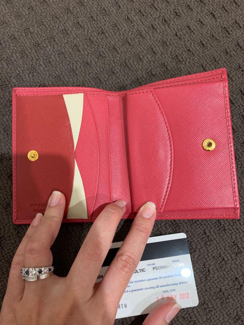 Preloved PRADA mini Wallet