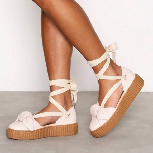 buy popular 6ca01 4fd1e Puma Rihanna Fenty Bow Creeper
