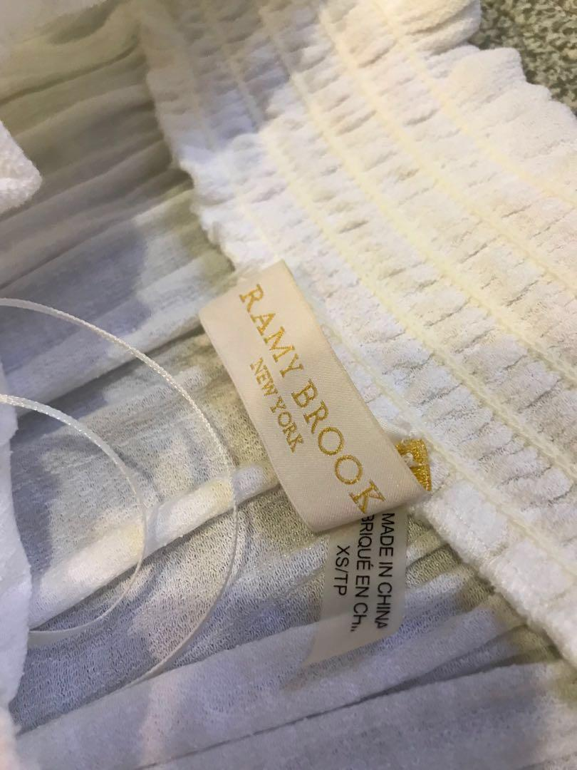 Ramy Brook Lowri dress soft white