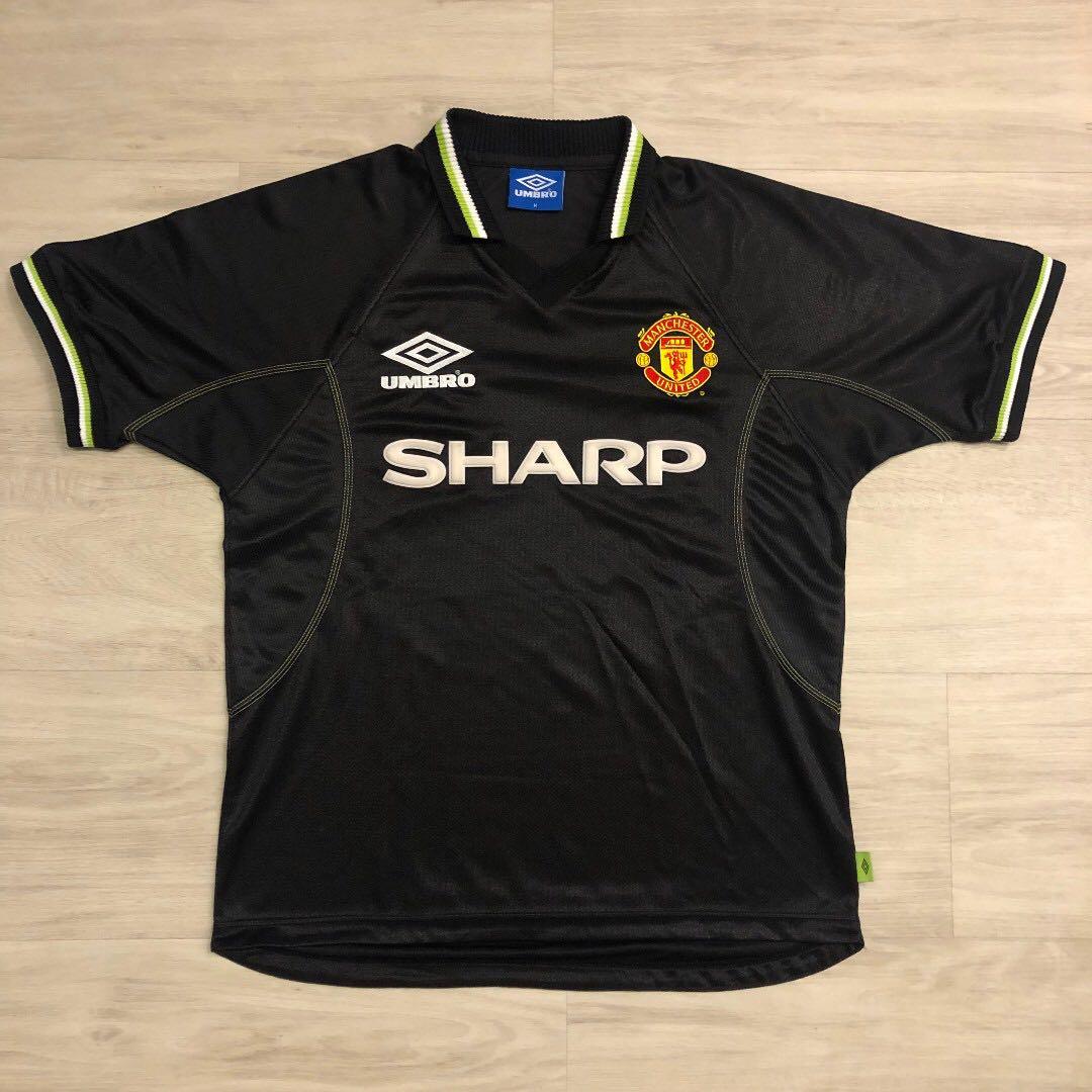 f51b0025d RARE Umbro Man Utd 1998 1999 Third Kit (Authentic) M