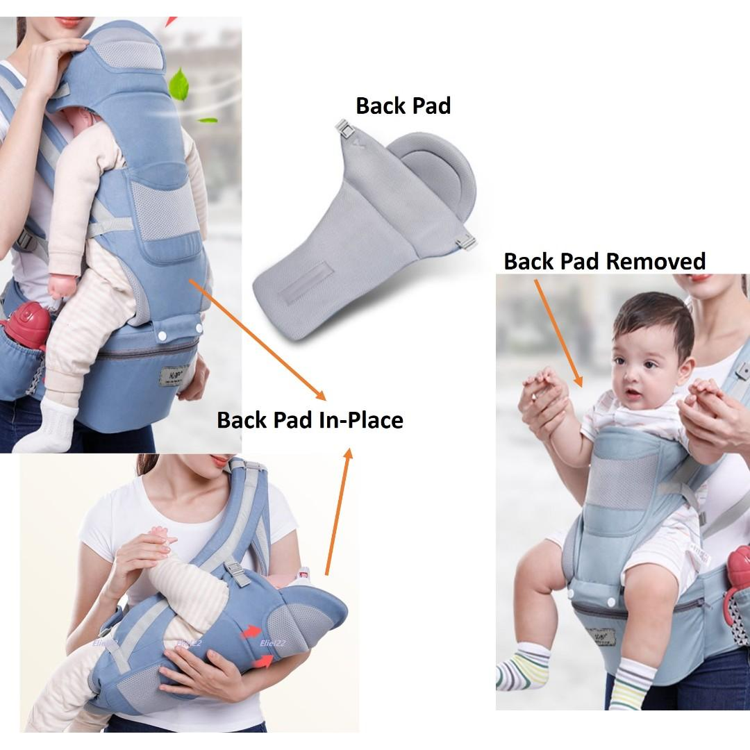 Ready Stock 3-in-1 Multi-Functional Baby Hip Seat Sling Carrier for Newborn & upwards