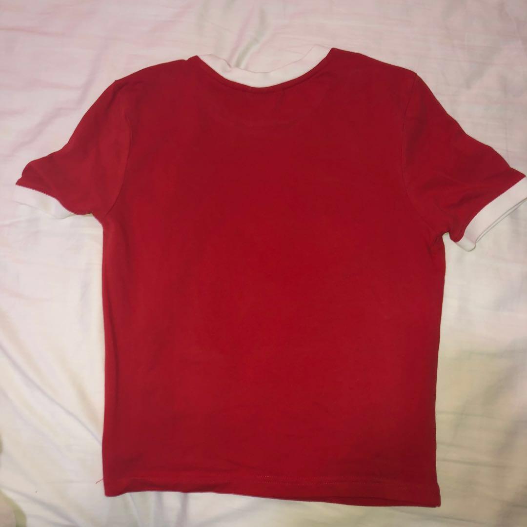 RED FILA TOP