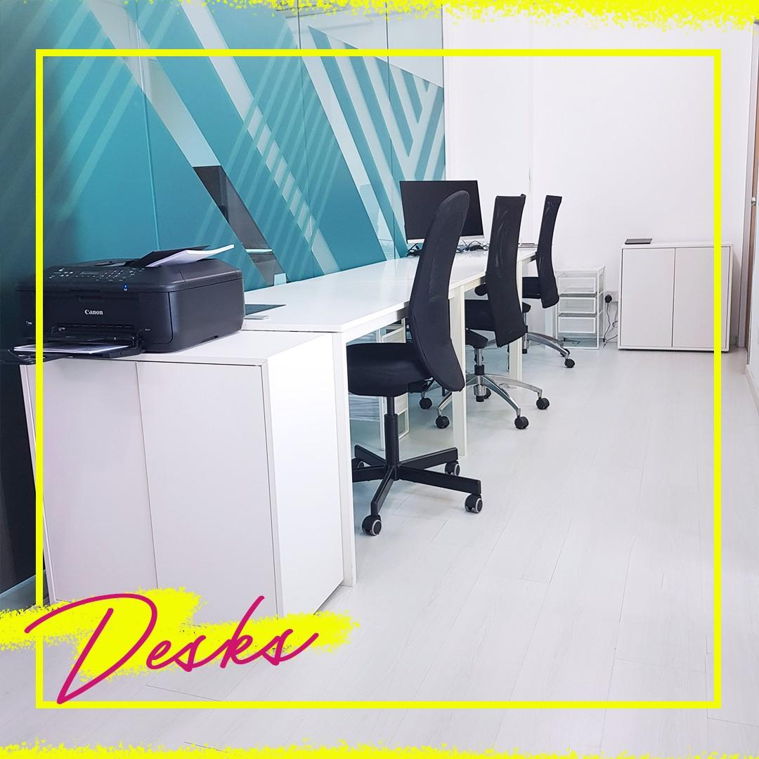 Rent a desk in a cool office!