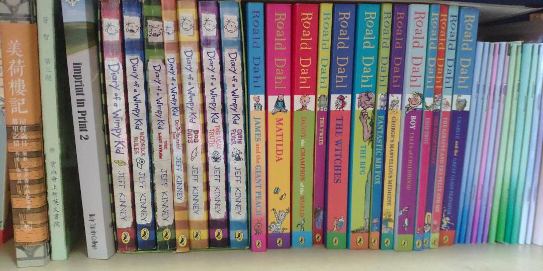 Roald Dahl Diary of a wimpy kid jeff Kinney james and the giant peach Charlie and the chocolate factory  #freepricing