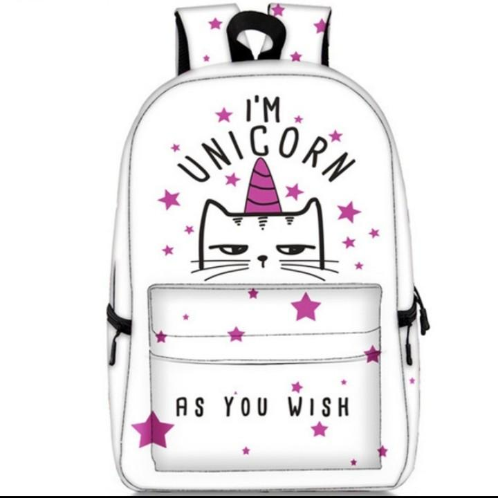 #unicorn #cute #backpack #schoolbag #panda #backpack #schoolbag #instock #kids #teens #gift #present #birthday #school #bags