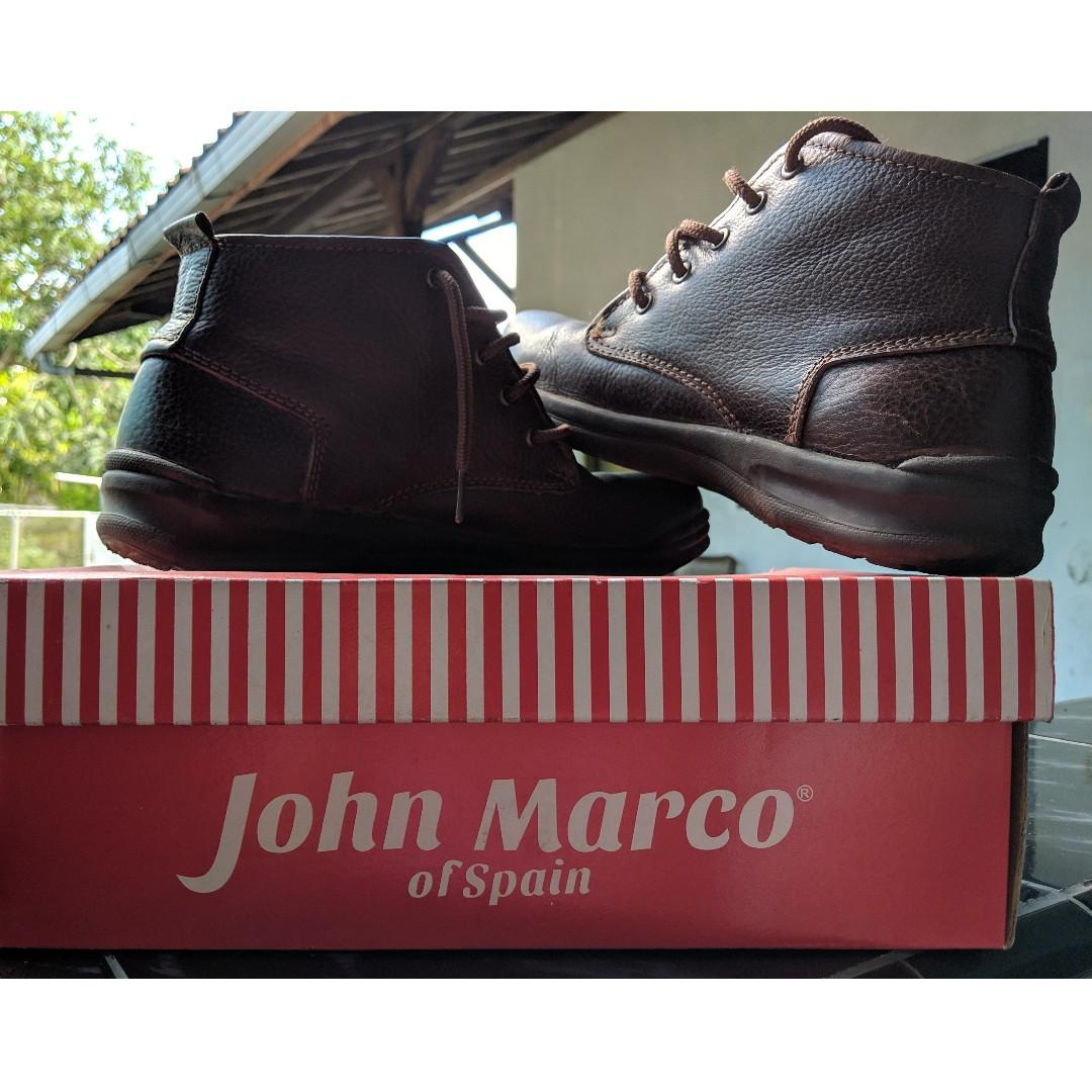 Sepatu John Marco Men S Fashion Men S Footwear Boots On Carousell