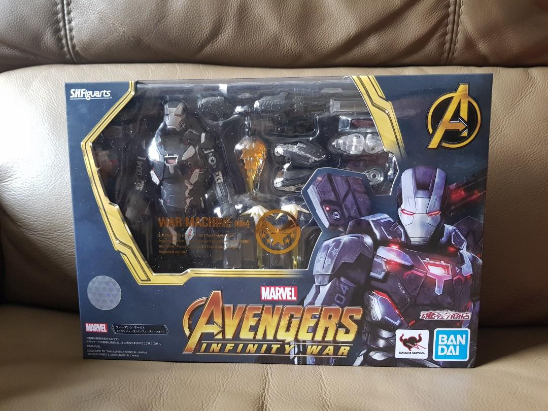 Avengers PRE-ORDER Infinity War S.H.Figuarts War Machine Mark IV w// Tamashii S